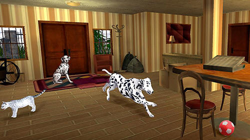 My dalmatian dog sim: Home pet life für Android