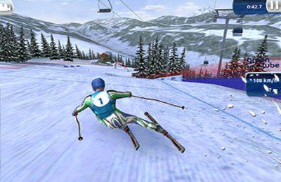 Ski Wettbewerb 13 auf Deutsch