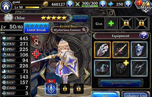 RPG The alchemist code für das Smartphone