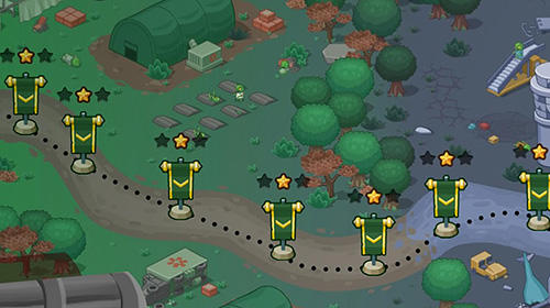Strategiespiele Zombie world: Tower defense für das Smartphone