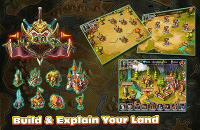 マルチプレイヤーゲーム: 電話に タイニー王国をダウンロード