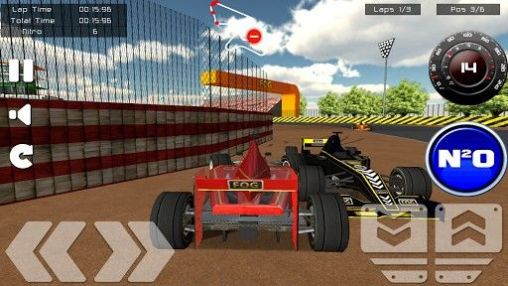 Formula racing game. Formula racer скриншот 1