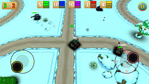 Micro tanks online: Multiplayer arena battle Screenshot