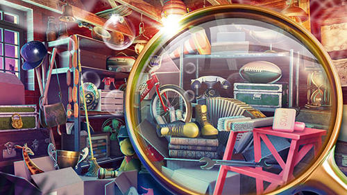 Hidden objects: House cleaning für Android
