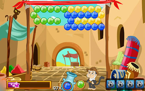 Bubble raider pour Android