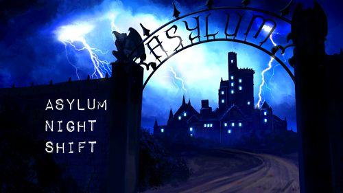 логотип Психиатрическая лечебница: Ночная смена
