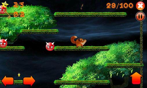 Arcade-Spiele Jump! Jumpy fox für das Smartphone
