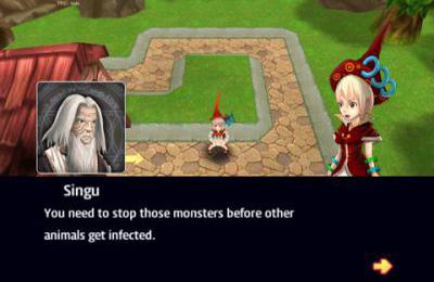 角色扮演游戏:下载怪物防御到您的手机