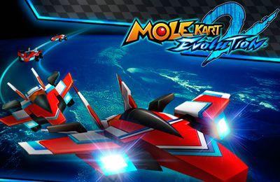 Corridas: faça o download de Mole Kart 2 Evolução para o seu telefone