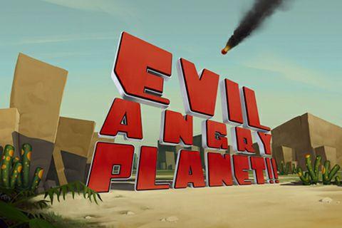 logo Böser wütender Planet