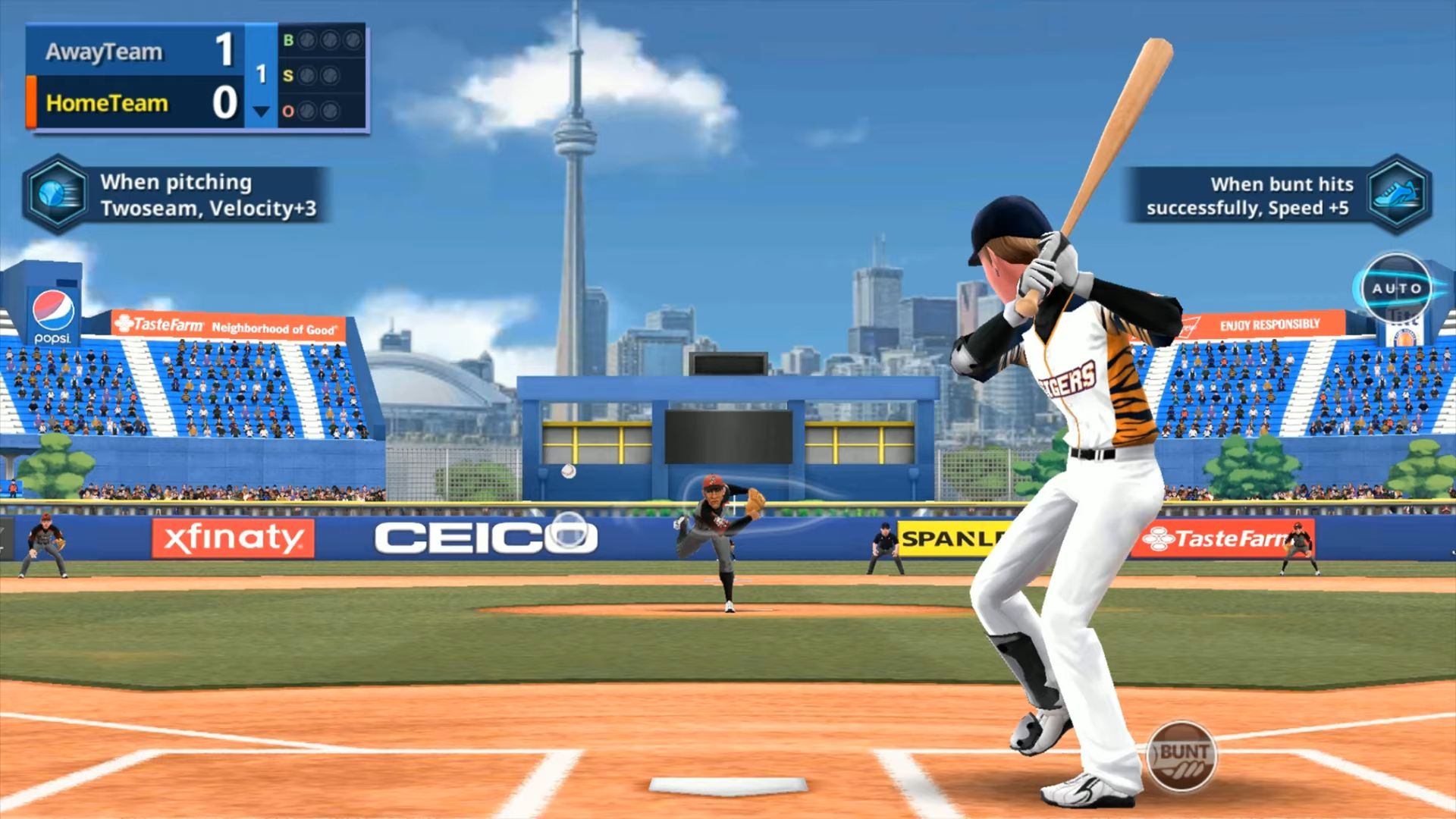 Baseball Clash: Real-time game for Android