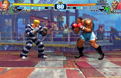 Screenshot Strassenkämpfer 4 auf dem iPhone