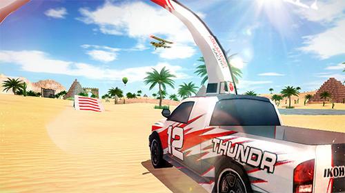 Dirt rally driver HD captura de pantalla 1