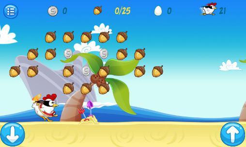 Ninja chicken: Beach für Android