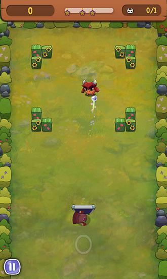 Arcade-Spiele Brick breaker hero für das Smartphone