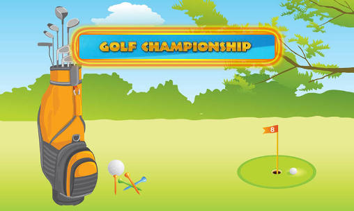 Golf championship captura de pantalla 1