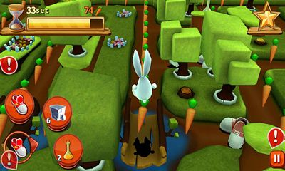 Bunny Maze 3D captura de pantalla 1