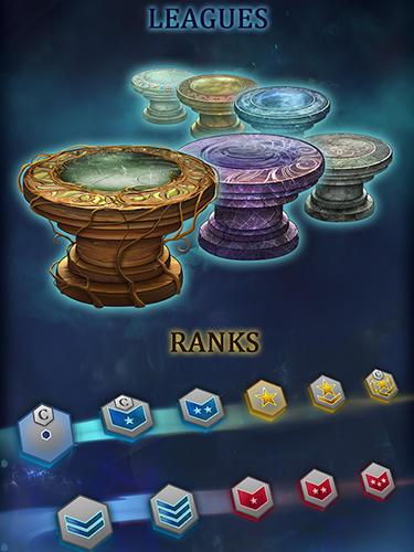 Onlinespiele Battle magic: Online mage duels für das Smartphone