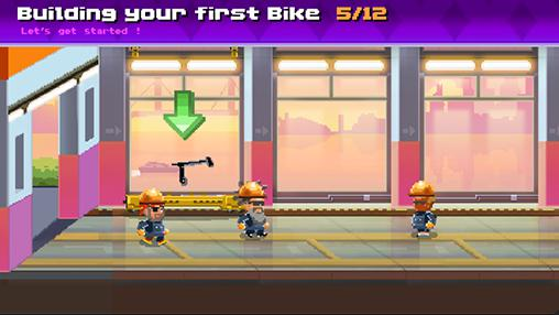 Arcade Motor world: Bike factory für das Smartphone