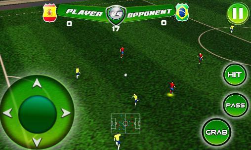 Real football tournament game截图