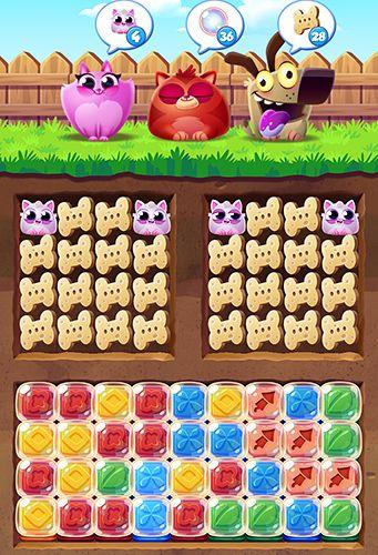 Captura de pantalla Explosión de galletas de gato en iPhone