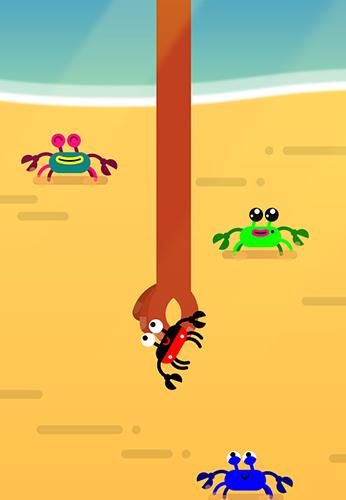 Arcade-Spiele Coco crab für das Smartphone