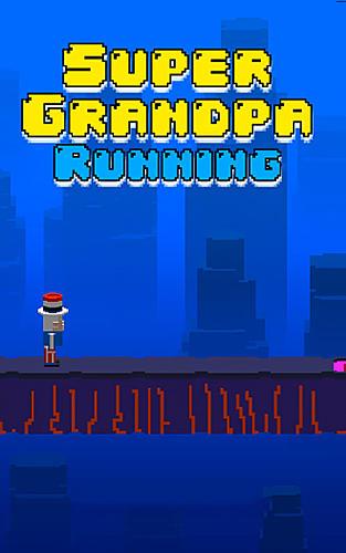 Super grandpa running Screenshot