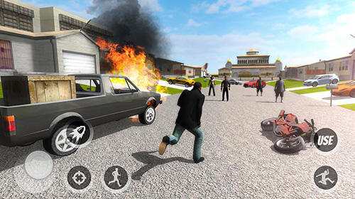 Actionspiele Mad city in Vegas für das Smartphone