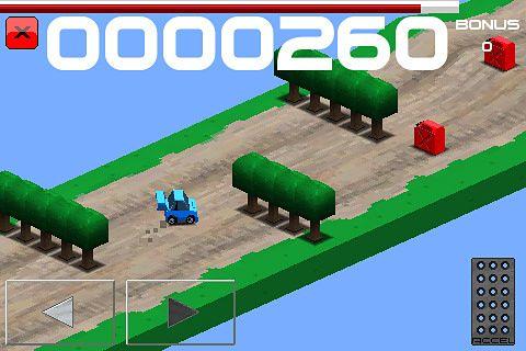 Captura de pantalla Corredor de rally cubico en iPhone