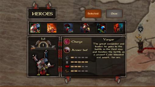 The orcs crusade in English