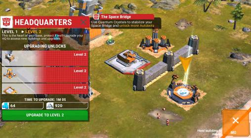 Transformers: Earth wars para Android