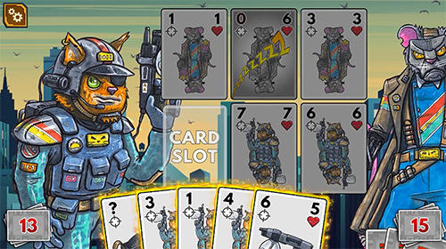 Meow wars: Card battle screenshots