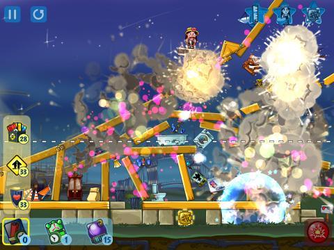 Physikspiele Total destruction: Blast hero auf Deutsch