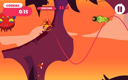 Arcade-Spiele Aliensome: Village für das Smartphone