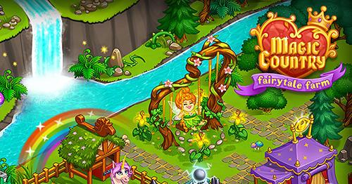 Magic country: Fairytale city farm скриншот 1