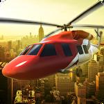 Ambulance helicopter simulator Symbol