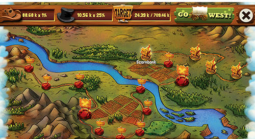 Wild West saga: Legendary idle tycoon pour Android