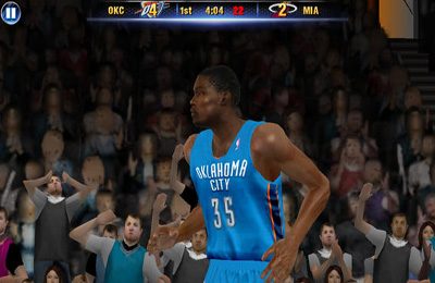 多人游戏(蓝牙):下载NBA 2K14到您的手机