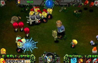 Arcade-Spiele: Lade Zombiejagd auf dein Handy herunter