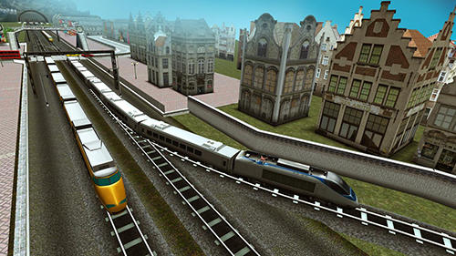 Euro train driving games screenshot 1