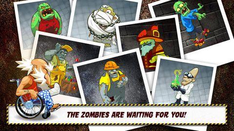 Jogos de arcade: faça o download de Vovozinho e os zumbis: Cuide do seu cérebro! para o seu telefone