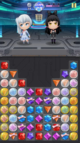 RWBY: Crystal match pour Android