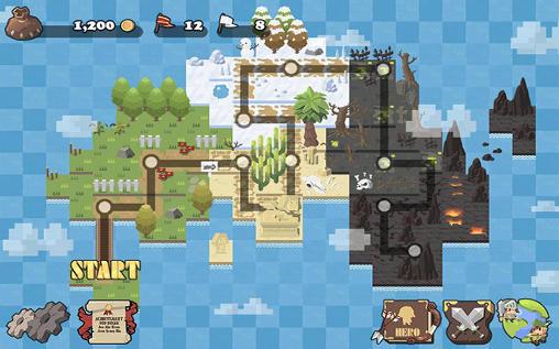 RPG-Spiele Nine: Knights für das Smartphone