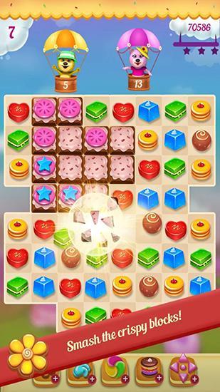 アンドロイド用ゲーム クッキー・パラダイス のスクリーンショット