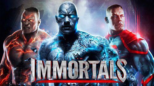 logo WWE Immortals