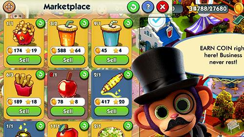 Juegos de arcade Wonder park magic rides para teléfono inteligente