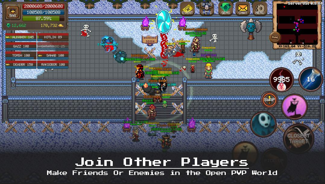 RPG Laurum Online - MMORPG - Pixel MMO - PVP for Android