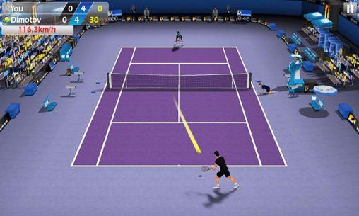 Simulation Tennis 3D für das Smartphone