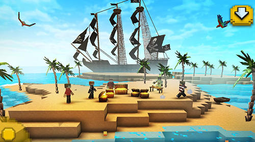 Pirate ship craft: Exploration and sea battles для Android