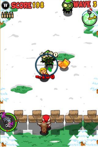 Santa contra zombis